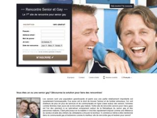 Détails : Rencontresenioretgay.com : un site de rencontre conçu pour les seniors gays