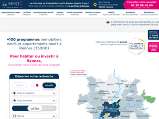 Investissement dans l'immobilier neuf à Rennes