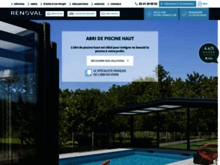 Détails : Abri de piscine de Renoval