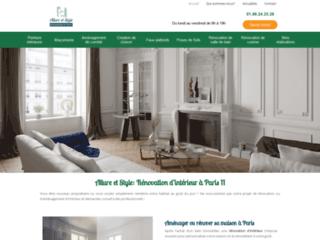 Allure et Style: Rénovation d'intérieur à Paris 11