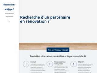 Renovation-antibes.fr, travaux de rénovation sur Antibes
