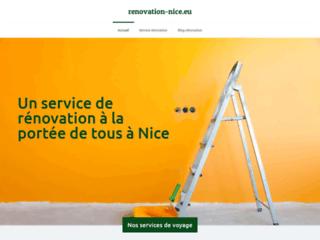 Rénovation de bâtiment à Nice