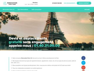 Rénovation Paris 12
