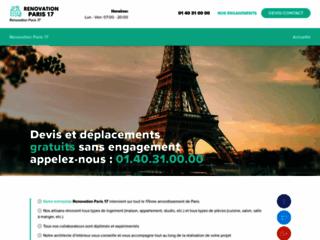 Rénovation Paris 17