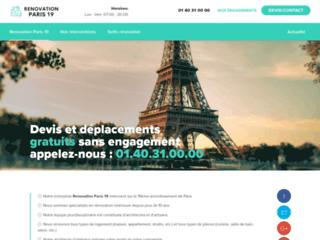 Rénovation Paris 19