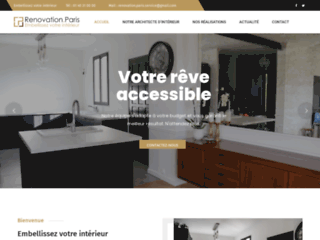 Renovation Paris Service : appartement , maison , locaux commerciaux .