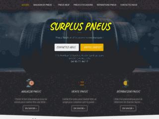 SURPLUS PNEUS