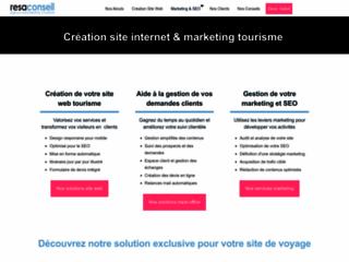 Création de sites web pour le tourisme et le voyage