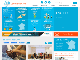 Détails : Réseau-CHU, actualités des Centres Hospitaliers Universitaires