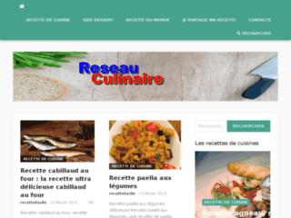 Reseau-culinaire : recettes culinaires au choix