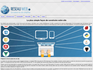 créer son site internet avec reseauweb.fr
