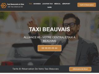 GIE Taxis Alliance 60, votre compagnie de taxi à Beauvais