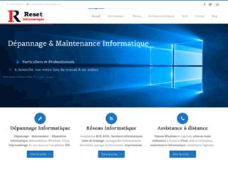 Reset Informatique -  Dépannage et maintenance Informatique sur Toulouse