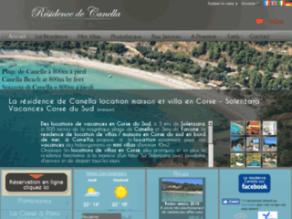 Détails : La résidence de Canella location maison et villa en Corse