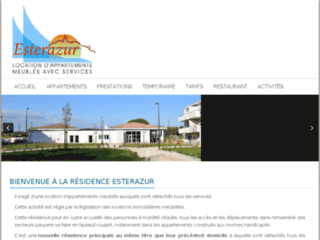 Résidence Senior ESTERAZUR - Résidence Services en appartements meublés dans le 83 et le Var