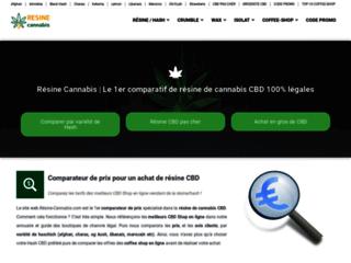 Résine Cannabis, la solution pour acheter moins cher votre résine de CBD