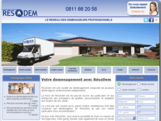 Détails : Devis Déménagement - déménageurs professionnels | Société RésoDem
