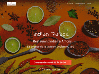 Restaurant Indien Indian Palace