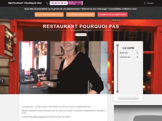 Détails : Restaurant traditionnel à Lyon, le Restaurant Pourquoi Pas