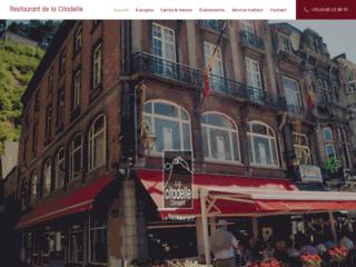 Le restaurant de la Citadelle à Dinant