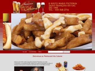 Détails : Restaurant Ma Cabane meilleure poutine de la région