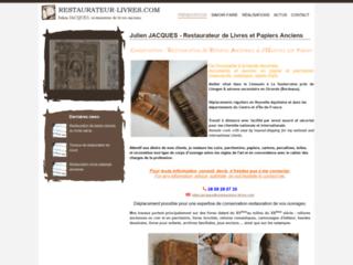Restauration de livres