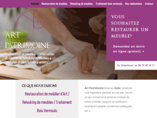 Art Patrimoine : Restauration de Meubles