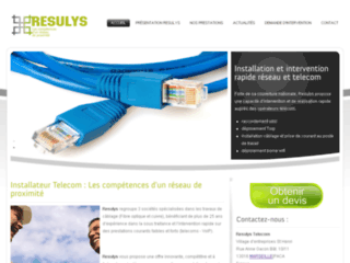 Détails : Téléphonie d'entreprise - Resulys