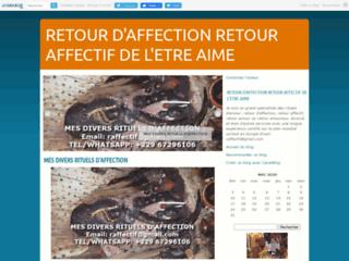 RETOUR D'AFFECTION OU RETOUR AFFECTIF DE L'ETRE AIME