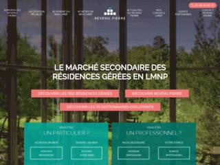 Détails : Spécialiste revente LMNP, marché secondaire résidences gérées