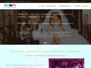 Détails : Rêves En Fête - Agence d'animation pour enfants