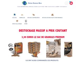 Rhone énergie bois: granules bois de chauffage lyon