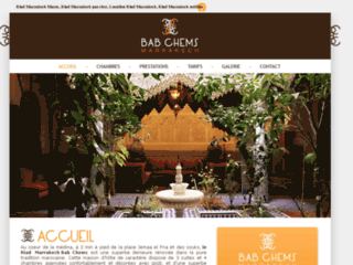 Détails : Riad Marrakech Maroc