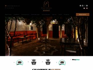 Maison d'hote à Marrakech - Riad Itrane