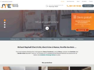 Électricien à Namur, Noville-les-Bois et Wanze