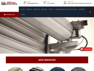 Dépannage et réparation des rideaux métalliques