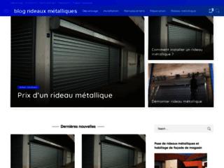 blog rideaux métalliques