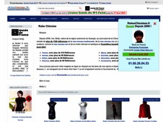 Détails : Robes chinoises, vêtements traditionnels chinois