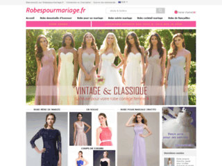 Robes femme flatteuses pour mariage