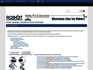 Robot maker : le site des roboticiens