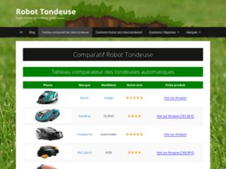 Robot Tondeuse Comparatif
