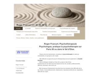 Détails : Gestalt-therapie Psychothérapie Roger Francart