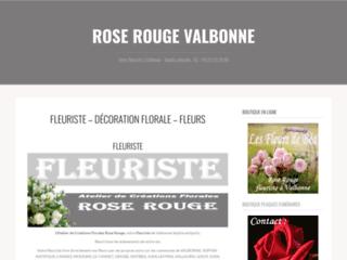 Détails : Atelier de Créations Florales Rose Rouge