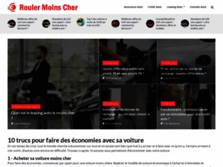 Roulermoinscher.fr