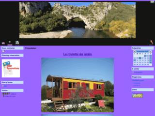 Location d'une roulotte en Ardèche