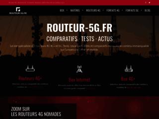 Détails : Tests et comparatifs des routeurs 4G