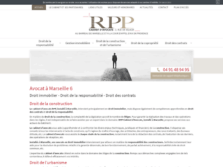 RPP Avocats, cabinets d'avocats spécialisé en droit immobilier à Marseille