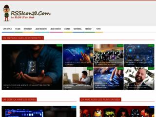 RSSicon20, blog d'un geek