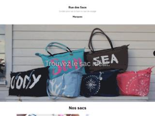 Rue des Sacs blog sac à main