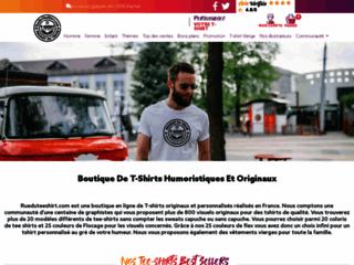 Détails : t-shirt humour